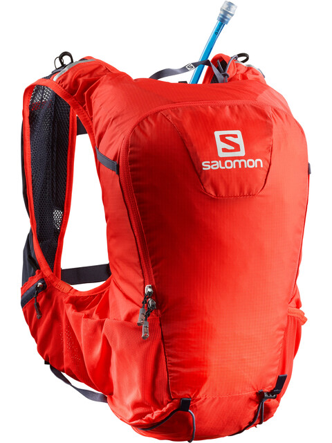 Salomon Skin Pro 15 Bag Set Fiery Red/Graphite